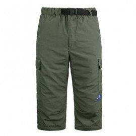 image of ULTRALIGHT MALE CASUAL PANTS REMOVABLE TROUSER CAMPING KIT (ARMY GREEN) 2XL