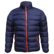 image of CASUAL SLIM FIT SOLID COLOR MALE STAND COLLAR WARM COAT L