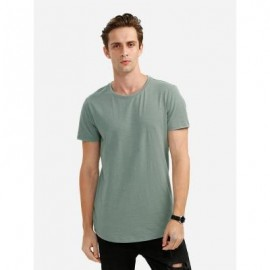 image of ROUND NECK T SHIRT (GREEN) M