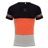 image of CASUAL PATCHWORK DESIGN ROUND NECK MALE SHORT SLEEVE SHIRT (JACINT M/L/XL/2XL/3XL) M