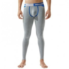 image of COLOR BLOCK U POUCH GYM PANTS (LIGHT HEATHER GREY) L