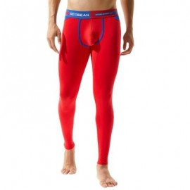 image of COLOR BLOCK U POUCH GYM PANTS (RED) XL