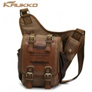 image of FH03 5L SLING BAG WITH MAGNETIC FORCE BUCKLE (KHAKI) 35.00 x 21.00 x 9.00 cm
