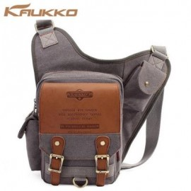 image of SG255 4L MEN SLING BAG WITH BUSINESS STYLE MICROFIBER (GRAY) 34.00 x 9.00 x 36.00 cm