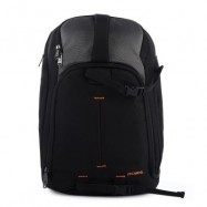 image of PROWELL DC21402 DSLR CAMERA CANVAS PHOTOGRAPHY BAG BACKPACK (BLACK)