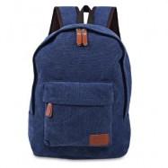 image of CASUAL POCKET DECORATION CANVAS PORTABLE BAG HANDBAG TOTE SCHOOL BACKPACK