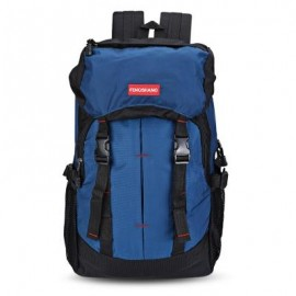 image of GUAPABIEN OUTDOOR TRAVEL BACKPACK CLIMBING HIKING BAG (BLUE)