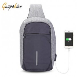 image of GUAPABIEN MULTIPURPOSE CROSSBODY CHEST BACKPACK FOR MEN