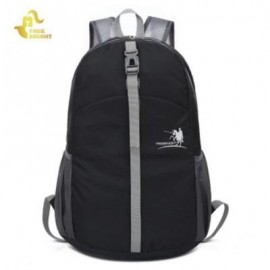 image of FREEKNIGHT FK0722 WATERPROOF FOLDABLE BACKPACK SHOULDER BAG FOR OUTDOOR CLIMBING HIKING CYCLING (BLACK)