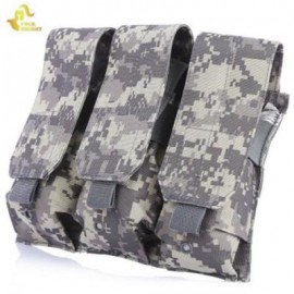 image of FREEKNIGHT OUTDOOR BAG MOLLE BACKPACK HANGING POUCH PHONE CASE (ACU CAMOUFLAGE)