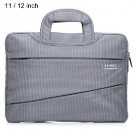 image of SSIMOO 2 IN 1 BUSINESS STYLE LAPTOP BAG TABLET ZIPPER POUCH SLEEVE FOR NOTEBOOK 11 / 12 INCH