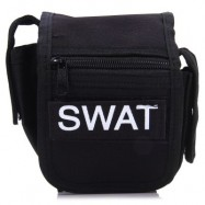 image of OUTDOOR POCKET WAIST BAG FOR TRAVEL (BLACK)