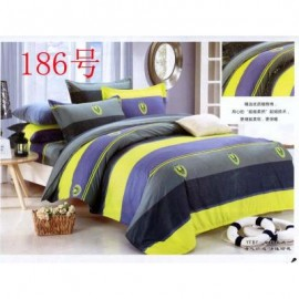 image of QUEEN SIZE FITTED BEDDING SET / 3PCS Queen