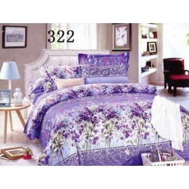image of QUEEN SIZE FITTED BEDDING SET / 3PCS / LAVENDAR Queen