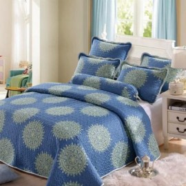 image of HIGH QUALITY COTTON PATCHWORK BEDSHEET SET King / Queen
