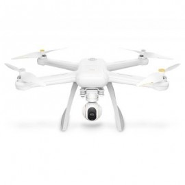 image of XIAOMI MI DRONE HD 4K WIFI FPV 5GHZ QUADCOPTER TAP TO FLY WITH PROPELLER PROTECTOR (WHITE) CN PLUG