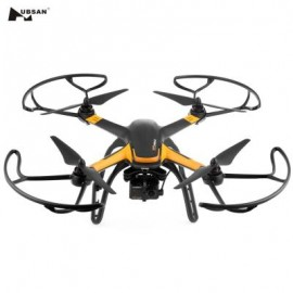 image of HUBSAN H109S X4 PRO 5.8G FPV 1080P HD CAMERA GPS 7CH RC QUADCOPTER WITH 1-AXIS BRUSHLESS GIMBAL (BLACK) EU PLUG