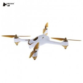 image of HUBSAN H501S X4 5.8G FPV 10CH BRUSHLESS WITH 1080P HD CAMERA GPS RC QUADCOPTER (COLORMIX) WHITE + GOLDEN EU PLUG