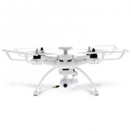 image of AOSENMA CG035 RC BRUSHLESS DRONE RTF 5.8G FPV 1080P HD 2.4GHZ 6-AXIS GYRO GPS BDS DUAL POSITIONING SYSTEMS FOLLOW ME MODE (WHITE) 1080P VERSION