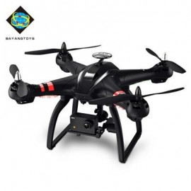 image of BAYANGTOYS X21 BRUSHLESS RC QUADCOPTER RTF WIFI FPV 8MP CAMERA 1080P FULL HD / GEOMAGNETIC HEADLESS MODE / AUTO HOVER (BLACK) DOUBLE GPS
