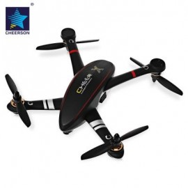 image of CHEERSON CX - 23 CHEER BRUSHLESS RC QUADCOPTER RTF 5.8G FPV 2MP CAMERA / GPS ALTITUDE HOLD / OSD DUAL-WAY TELEMETRY (BLACK)
