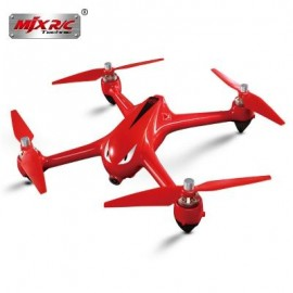 image of MJX BUGS 2 B2W BRUSHLESS RC DRONE RTF 5GHZ WIFI FPV 1080P FULL HD / GPS POSITIONING / 2.4GHZ 4CH DUAL-WAY TRANSMITTER (RED)