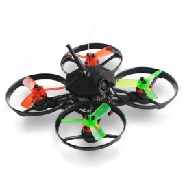 image of MAKERFIRE ARMOR 90 90MM MINI BRUSHLESS RC RACING DRONE 5.8G FPV 600TVL / MKF1104 10000KV MOTOR / F3 FC WITH INTEGRATED OSD (BLACK) BNF VERSION WITH DSM2 RECEIVER