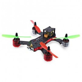 image of REDCON PHOENIX 210 DIY QUADCOPTER WITH 976 X 582 CAM 5.8G FPV ALMOST-READY-TO-FLY VERSION (RED)