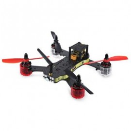 image of REDCON PHOENIX 210 DIY QUADCOPTER WITH 976 X 582 CAM 5.8G FPV ALMOST-READY-TO-FLY VERSION (YELLOW)