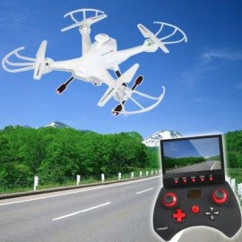 image of LIAN SHENG LS - 128 SKY HUNTER FPV REAL TIME TRANSMISSION RC QUADCOPTER WITH HD CAMERA HEADLESS MODE 2.4G 6 AXIS GYRO DRONE (WHITE)