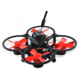 image of MAKERFIRE ARMOR 67 67MM MINI FPV RACING DRONE BNF 5.8G 600TVL CAMERA / 1103 10000KV BRUSHLESS MOTOR / BETAFLIGHT F3 6DOF FC WITH OSD (BLACK AND RED) WITH DSM2 RECEIVER