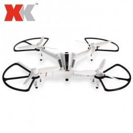 image of XK X300 - F BRUSHED RC DRONE RTF 5.8G FPV 720P HD 2.4GHZ 8CH 6-AXIS GYRO OPTICAL FLOW POSITIONING AIR PRESS ALTITUDE HOLD (WHITE)