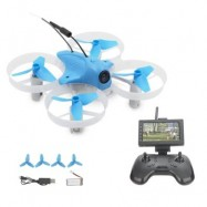 image of LIEBER ZULU MINI FPV RACER RC DRONE WITH HD 700TVL CAMERA AND 2.4GHZ 8CH REMOTE CONTROL (BLUE)