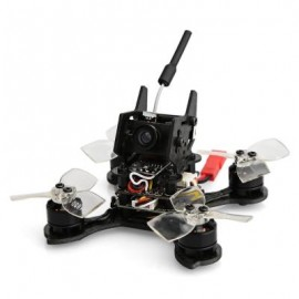 image of LANCHI MONSTER 76MM MICRO FPV RACING DRONE 5.8G 700TVL CMOS / F4 FC WITH OSD / 4-IN-1 BLHELI - S DSHOT ESC (BLACK) BNF FRSKY RECEIVER