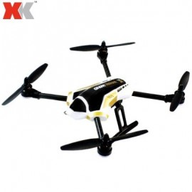 image of XK X251 4CH 2.4G 6 AXIS GYRO BRUSHLESS MOTOR 3D STUNT RC QUADCOPTER RTF WITH X7 TRANSMITTER (WHITE AND BLACK)