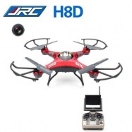 image of JJRC H8D 2.4GHZ 4CH HEADLESS MODE 5.8G FPV RC QUADCOPTER DRONE WITH 2MP CAMERA RTF (RED) EU PLUG