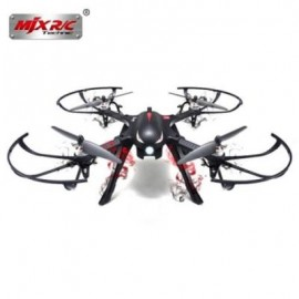 image of MJX B3 BUGS 3 RC QUADCOPTER RTF TWO-WAY 2.4GHZ 4CH WITH ACTION CAMERA BRACKET (BLACK)