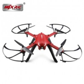 image of MJX B3 BUGS 3 RC QUADCOPTER RTF TWO-WAY 2.4GHZ 4CH WITH ACTION CAMERA BRACKET (RED)