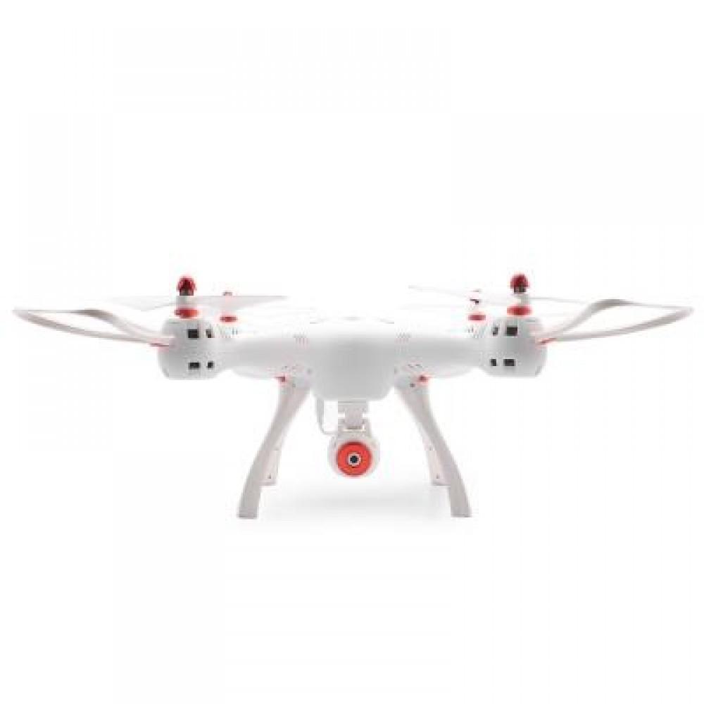SYMA X8SW RC DRONE RTF WIFI FPV 0.3MP CAMERA / 2.4GHZ 4CH 6-AXIS GYRO / AIR PRESS ALTITUDE HOLD (WHITE)