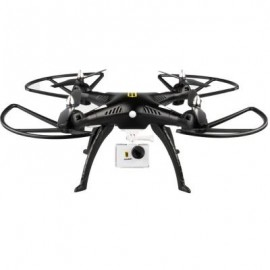 image of HUANQI 899B 2.4G 4CH 6-AXIS GYRO FPV RC QUADCOPTER WITH 2.0MP HD CAMERA RTF HOLD ALTITUDE MODE (BLACK)