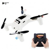 image of NEW VERSION HUBSAN FPV X4 PLUS H107D+ WITH 2MP 720P WIDE ANGLE CAMERA RC QUADCOPTER (WHITE)