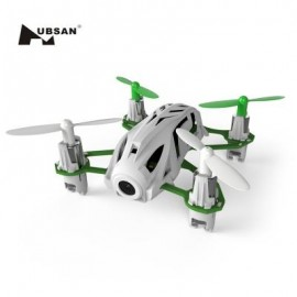 image of HUBSAN H111D NANO 4CH 5.8G FPV 2.4G RC QUADCOPTER HD CAMERA AIR PRESS ALTITUDE HOLD WITH 360 DEGREE ROLLOVER (WHITE AND GREEN)