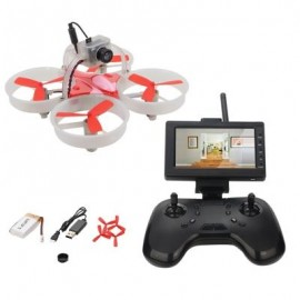image of LIEBER LB1060 FPV 6-AIXS GYRO RC QUADCOPTER RACING DRONE WITH HD CAMERA (WHITE)