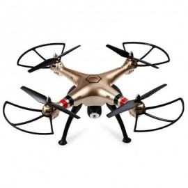 image of SYMA X8HC 2.0MP HD CAMERA 2.4GHZ 4CH 6 AXIS GYRO RC QUADCOPTER BAROMETER SET HEIGHT (GINGER)