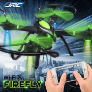 image of JJRC H27WH FIREFLY RC DRONE RTF WIFI FPV 2MP CAMERA 2.4GHZ 4CH 6-AXIS GYRO AIR PRESS ALTITUDE HOLD HEADLESS MODE APP CONTROL (COLORMIX)