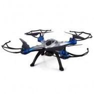 image of JJRC H29G 2.4GHZ 4 CHANNEL 6-AXIS GYRO 5.8G REAL-TIME TRANSMISSION 2.0MP CAM QUADCOPTER (BLUE)