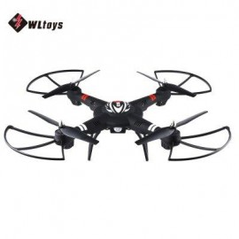 image of WLTOYS Q303 2.4GHZ 4CH 6 AXIS GYRO RC QUADCOPTER RTF FIXED-HEIGHT MODE AIRCRAFT (BLACK)