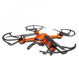 image of JJRC H12C 6 AXIS HEADLESS MODE 2.4G 4CH RC QUADCOPTER 360 DEGREE ROLLOVER UFO WITH 5.0MP HD CAMERA (ORANGE)