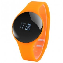 image of H8 BLUETOOTH 4.0 SPORTS SMART WATCH CALL REMINDER REMOTE CAMERA (ORANGE) 26.00 x 4.00 x 1.00 cm