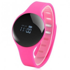 image of H8 BLUETOOTH 4.0 SPORTS SMART WATCH CALL REMINDER REMOTE CAMERA (PINK) 26.00 x 4.00 x 1.00 cm